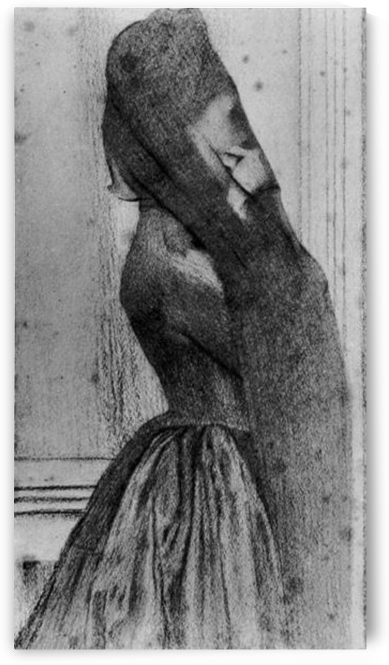 The veil by Fernand Khnopff by Fernand Khnopff