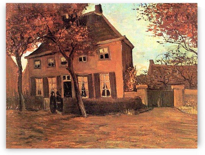 The vicarage of Neunen by Van Gogh by Van Gogh