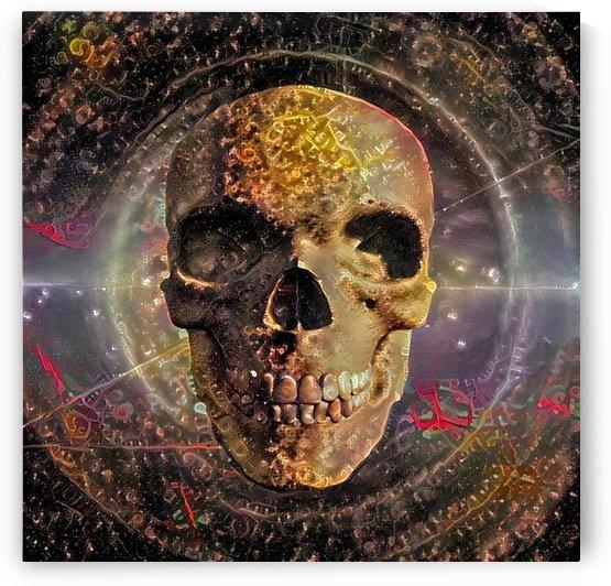 Golden Skull by Bruce Rolff