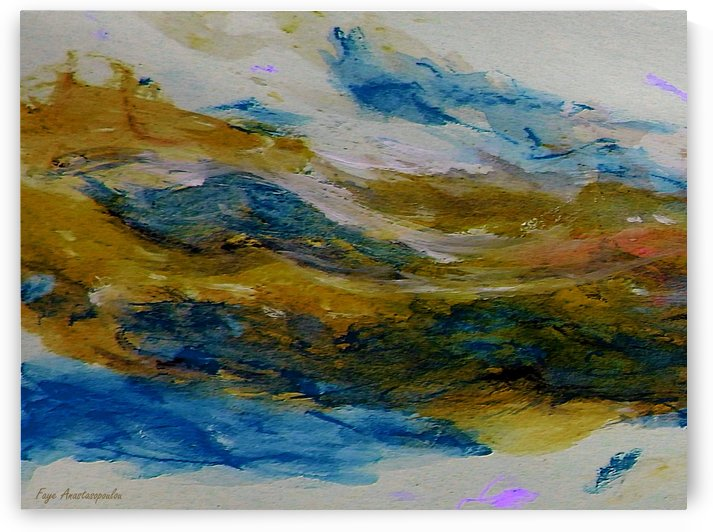 Amber River by Fotini Anastasopoulou