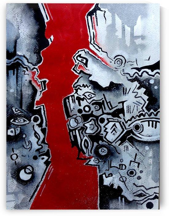 Cave Art   Primitive Symbolism 1 by Sumit Datta