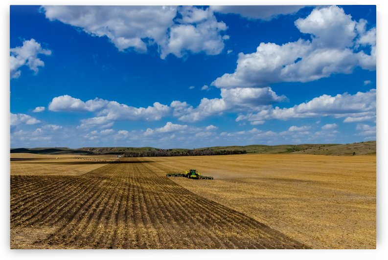 Big Sky Big Farming by Garald Horst