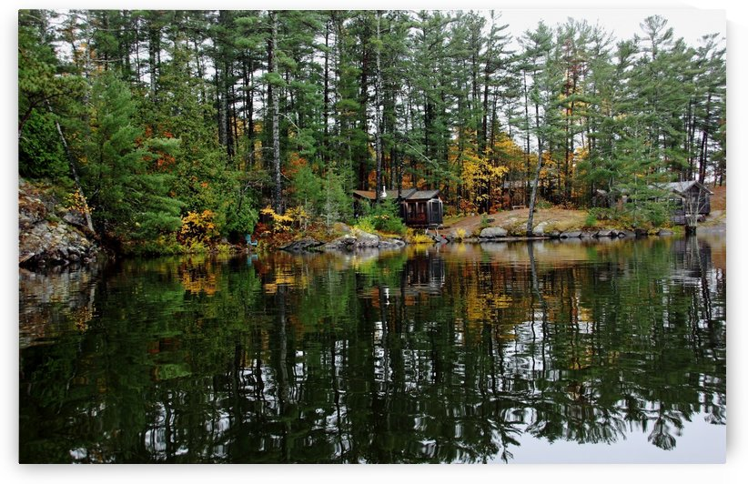 Camp On The River by Deb Oppermann