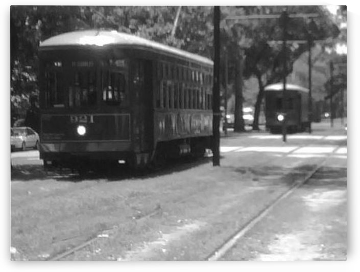 New Orleans Street Cars by CL White