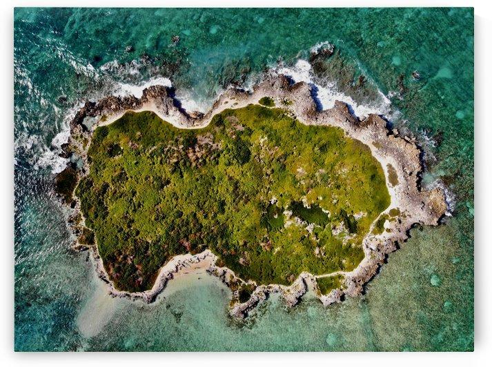 Flat Island Off of an Island by 808N4K