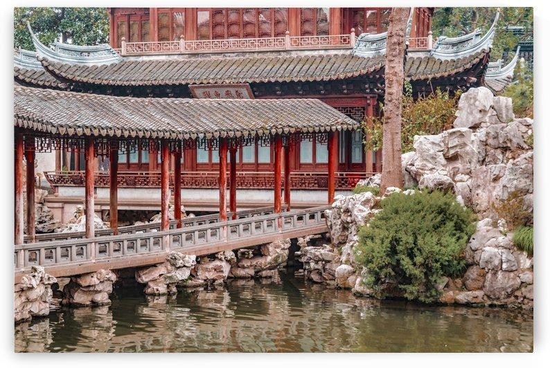 Yuyuan Garden, Shanghai, China by Daniel Ferreia Leites Ciccarino