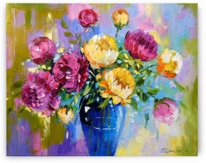 Bouquet of peonies by Olha Darchuk