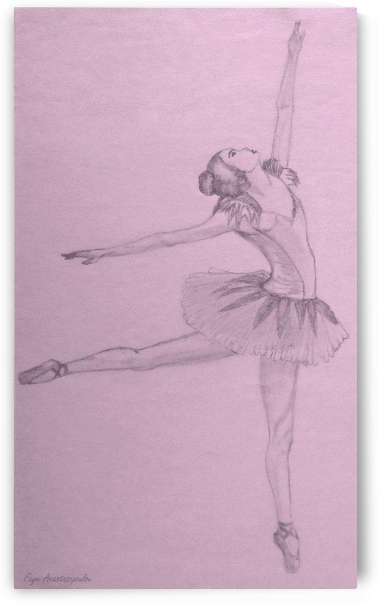 Ballet Dancer by Fotini Anastasopoulou