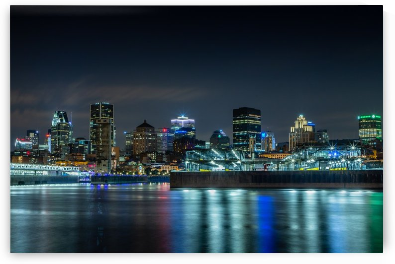 Montreal Skyline by Shutter Bliss Photography