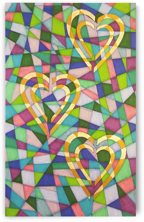 Stained Glass of Love by SarahJo Hawes