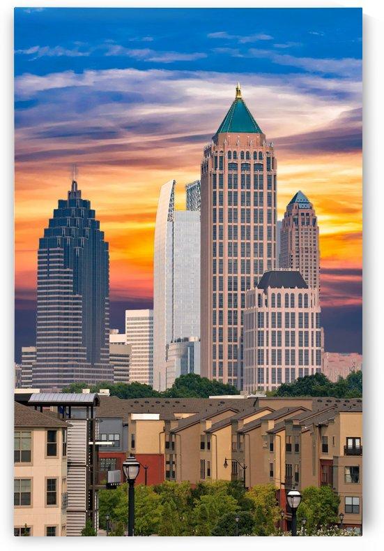 Atlanta at Sunrise by Darryl Brooks