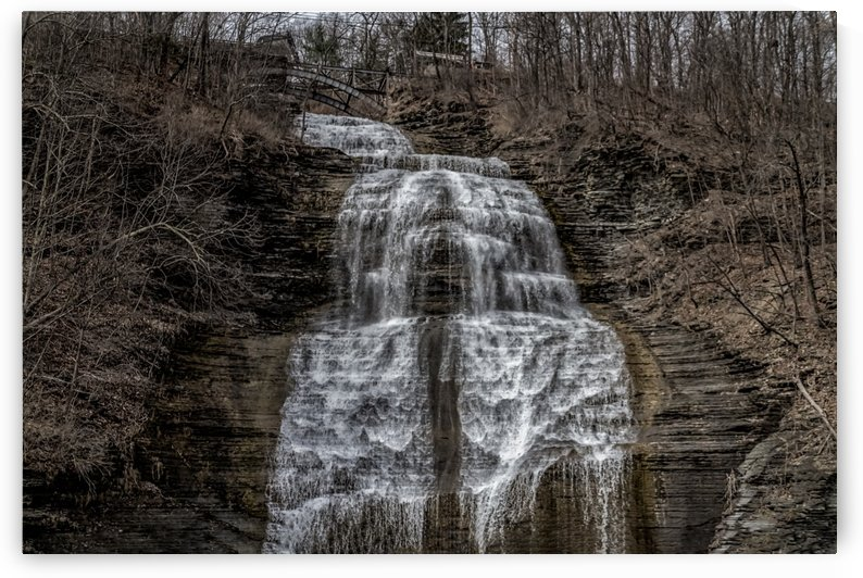 Montour Falls Panorama by William Norton Photography