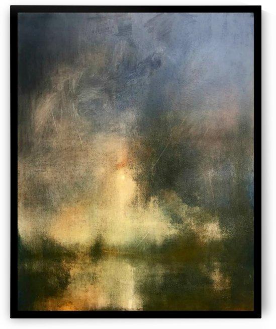 Light on the horizon after rain by Levan Tchabukiani