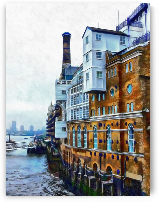 Butlers Wharf View by Dorothy Berry-Lound