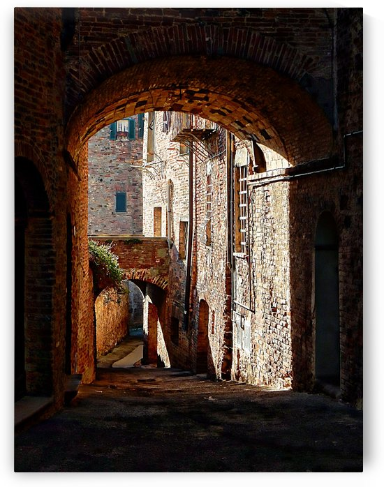 Arch to Arch Citta della Pieve Umbria by Dorothy Berry-Lound