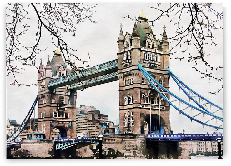 Tower Bridge London by Dorothy Berry-Lound