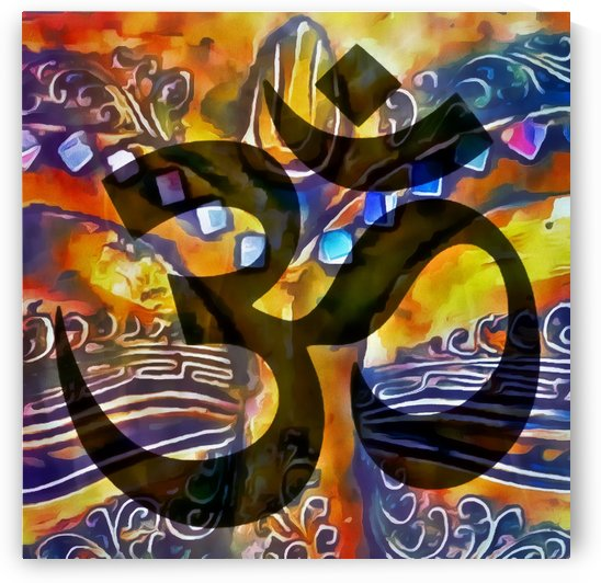 Buddhist Om by Dorothy Berry-Lound