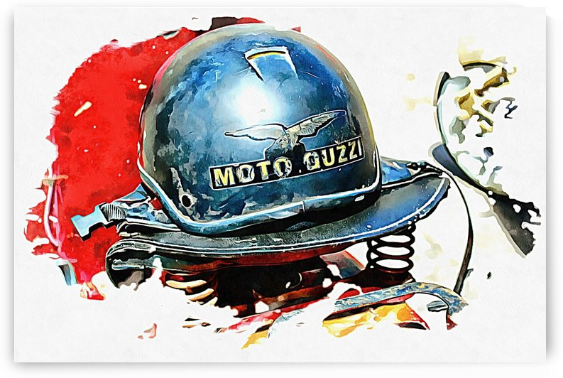 Moto Guzzi by Dorothy Berry-Lound
