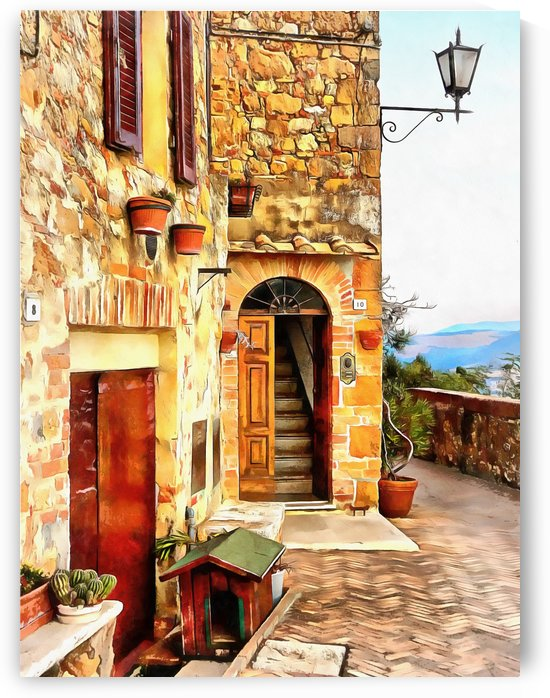 Homes for Everyone Pienza by Dorothy Berry-Lound