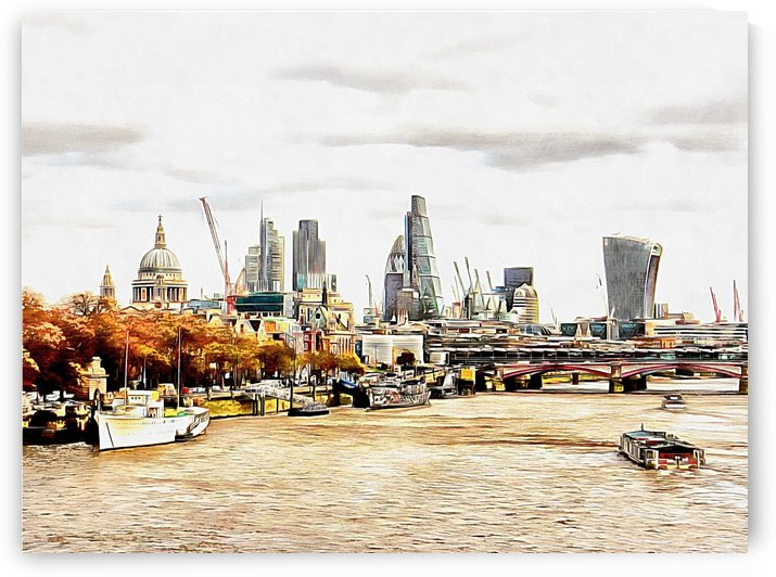 City View London by Dorothy Berry-Lound