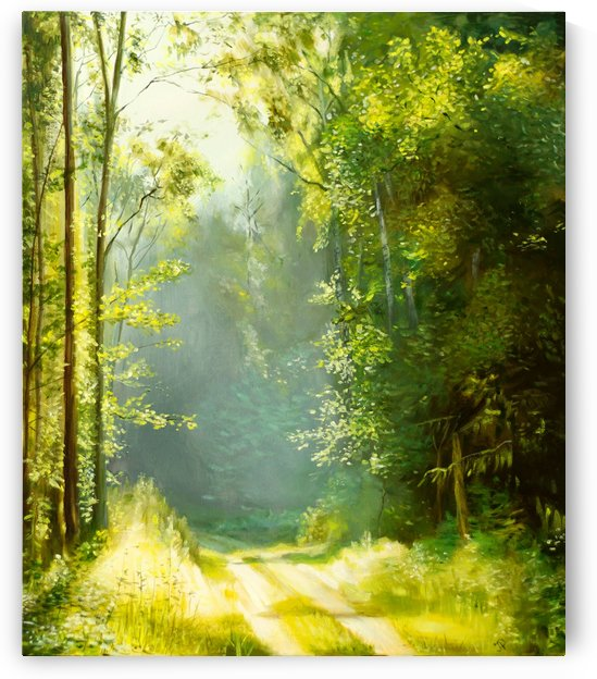 Forest Sun by Ineta Petersone