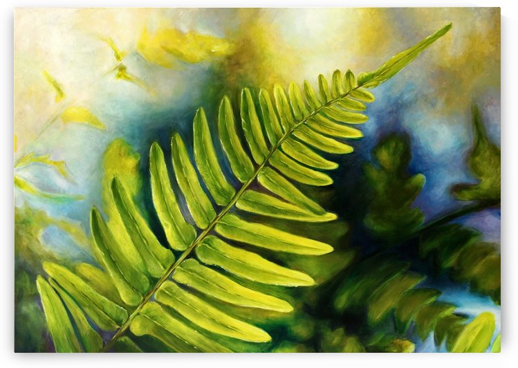 Fern Night by Ineta
