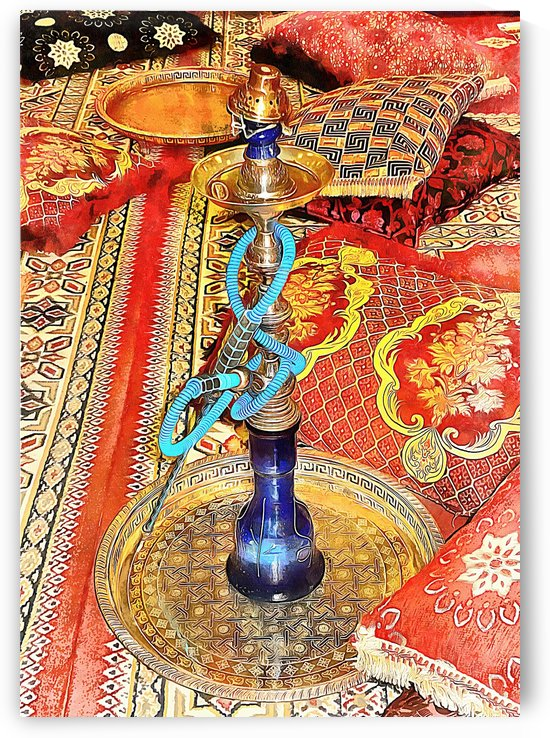 Exotic Oriental Hookah Pipe 4 by Dorothy Berry-Lound