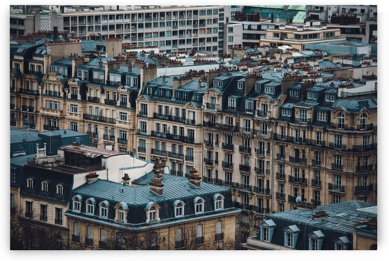 Paris Architecture by Carlos Trejos