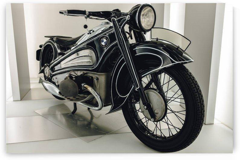 BMW Motorcycle by Carlos Trejos