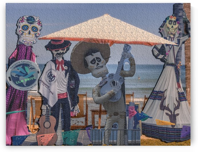Day of the dead group by Michael Snell