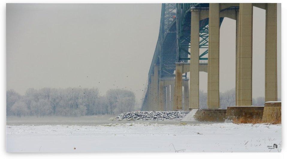 Sous le pont Under the bridge by Sylvain Bergeron Photographies
