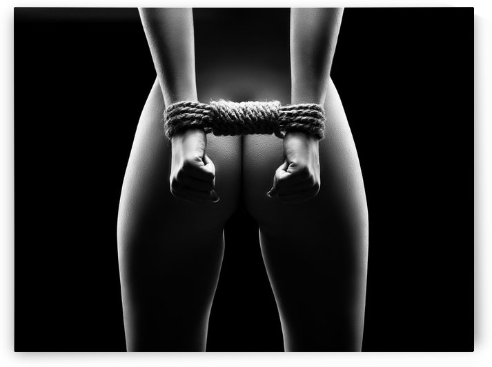 Womans hands in bondage by Johan Swanepoel