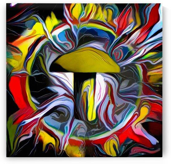 Rivet or Mushroom by Bruce Rolff
