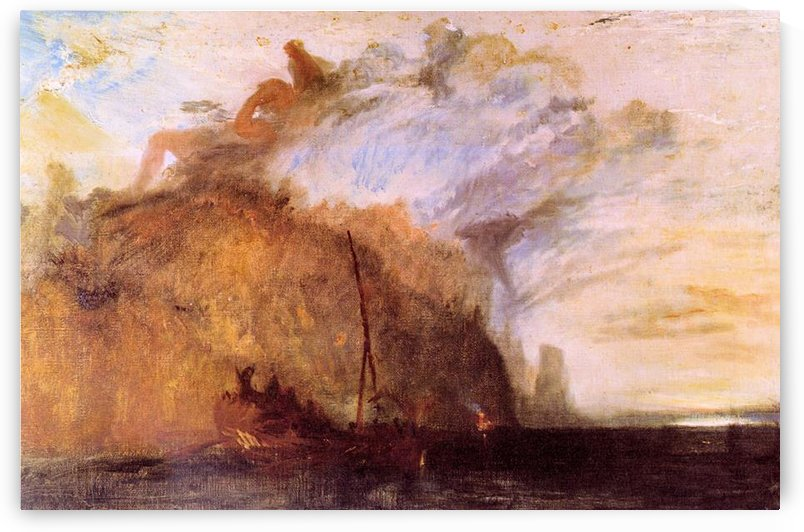 Ulysses scolding Polyphemus by Joseph Mallord Turner by Joseph Mallord Turner