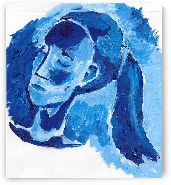 Blue Girl by EF Kelly