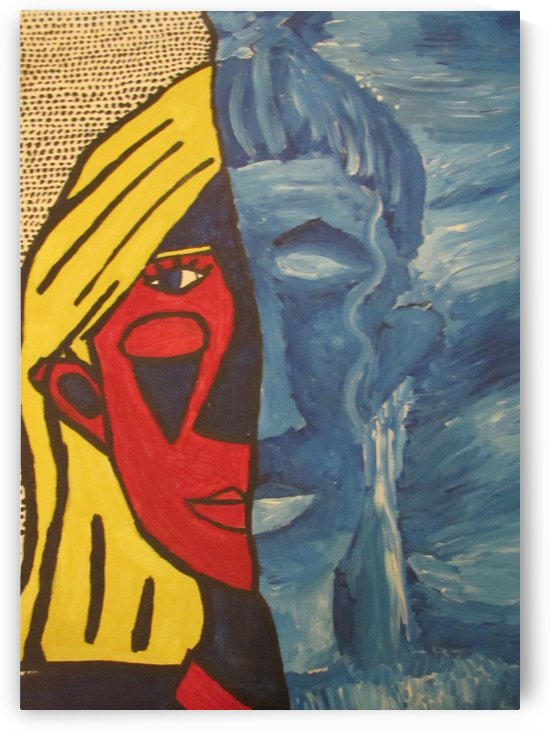 Lichtenstein VS Picasso by EF Kelly
