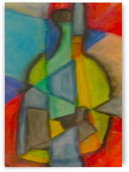 Cubist Bottle by EF Kelly