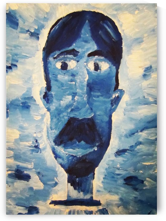 Blue Man by EF Kelly