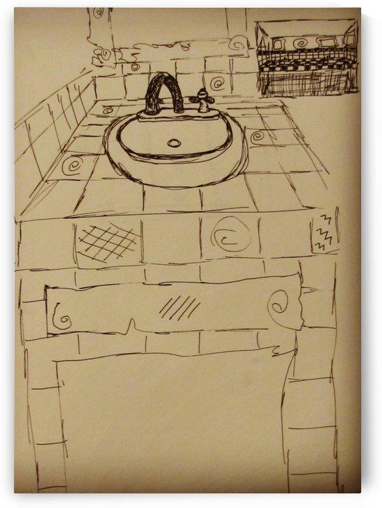 Re-Model the Bathroom Sink by EF Kelly