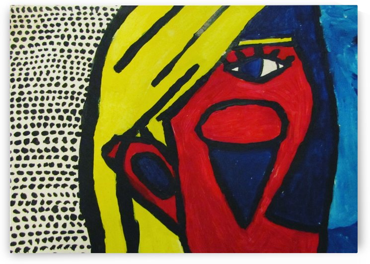 Lichtenstein VS Picasso by EF Kelly