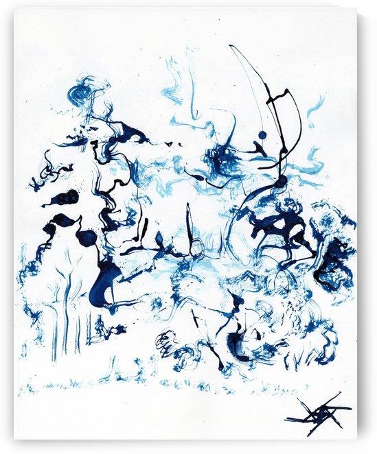 Caribou Crossing by Ariel Aspentree