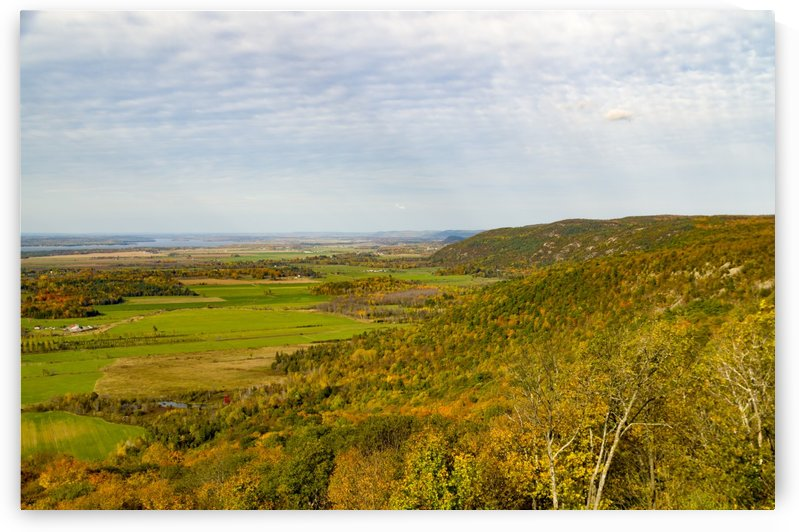View of Ottawa Valley in Autumn 1 by Bob Corson
