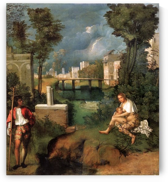The Tempest by Giorgione