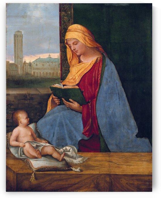 Reading Madonna by Giorgione
