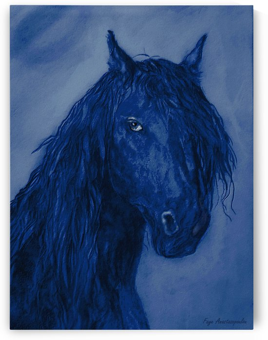 Blue Heart by Faye Anastasopoulou