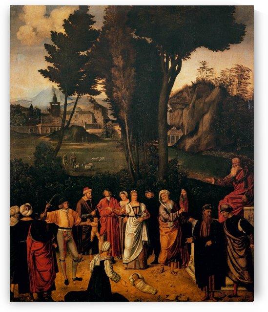 The Judgement of Solomon by Giorgione
