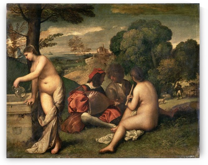 Pastoral Concert by Giorgione