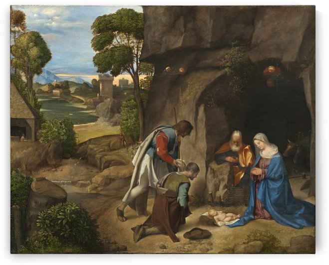 Adoration of the sheperds by Giorgione