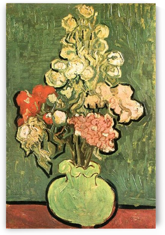 Vase with Roses by Van Gogh by Van Gogh
