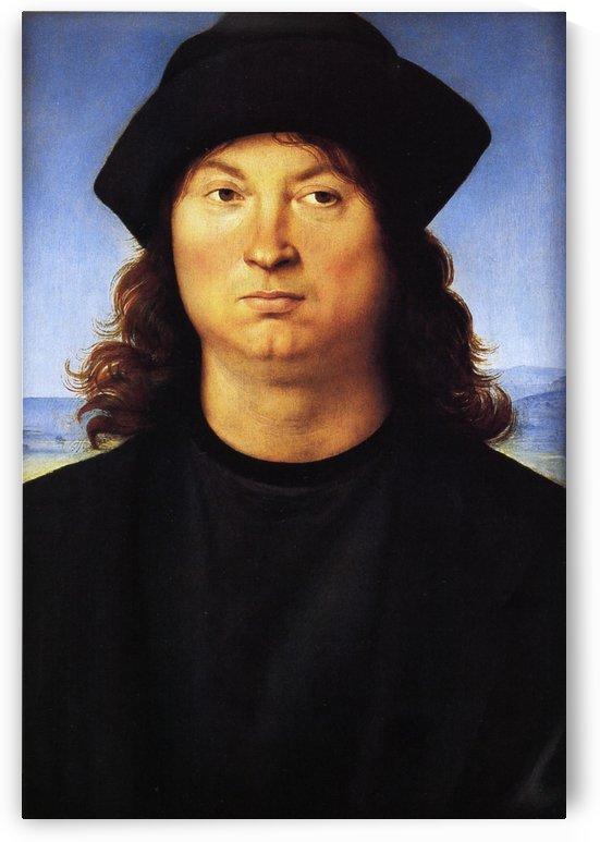 Portrait of a man cat by Raphael